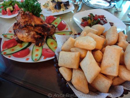 A Kyrgyz meal