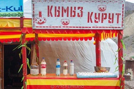 Kermis for sale, Kyrgyzstan