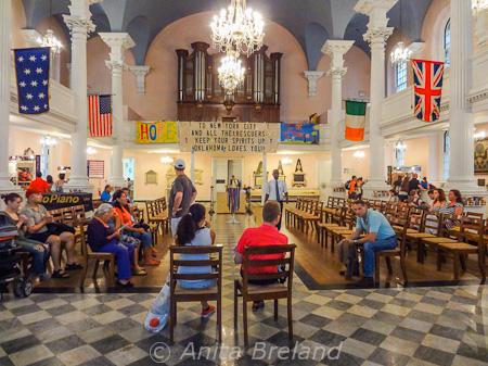 St. Paul's Episcopal Church, Lower Manhattan