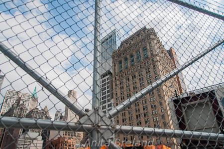 WTC Memorial under construction