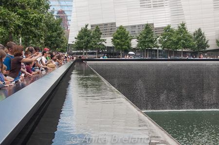 Cascading pool, WTC Memorial