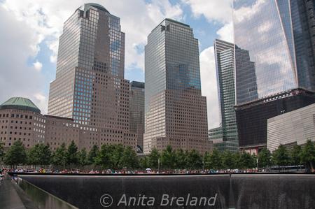 Building, WTC Memorial site