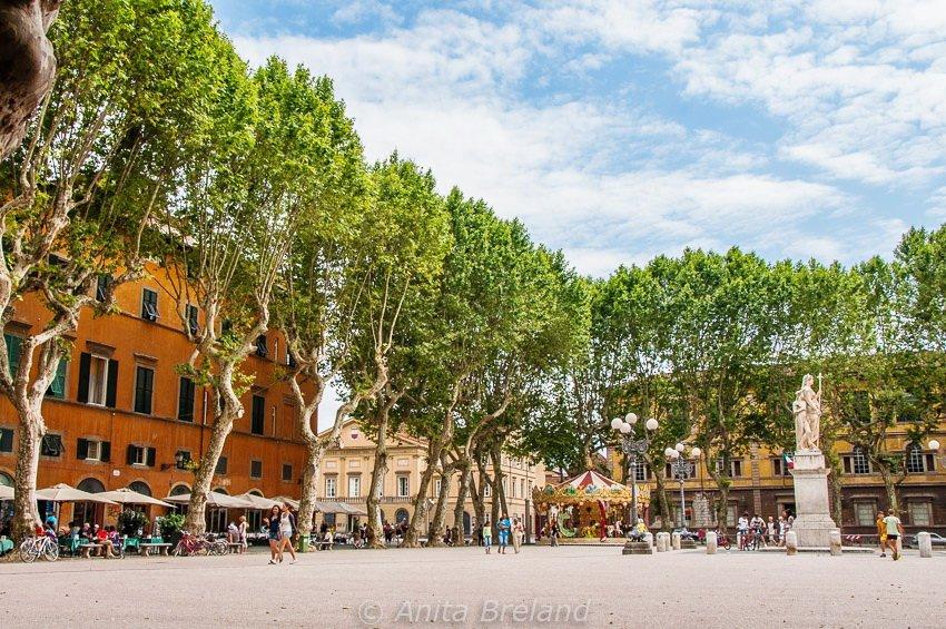 Piazza Napoleone, Lucca, Tuscany