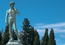 The David, Piazzale Michelangelo, Florence, Italy