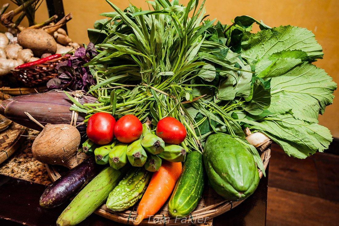 Asian vegetables