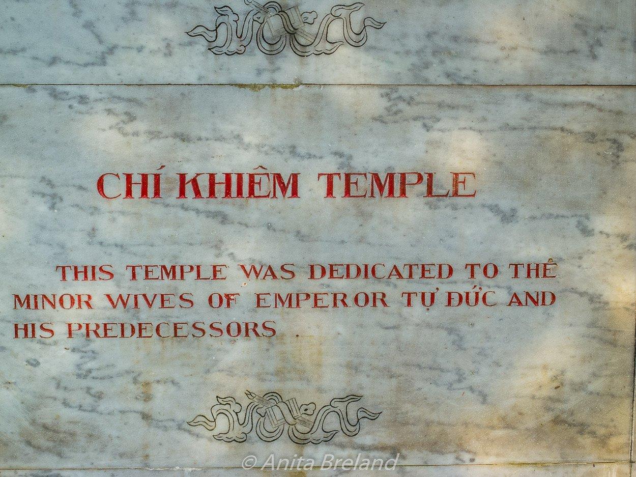 Chi Khiem Temple