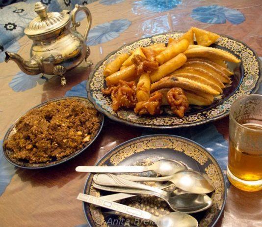 Ramadan treats, Fez, Morocco