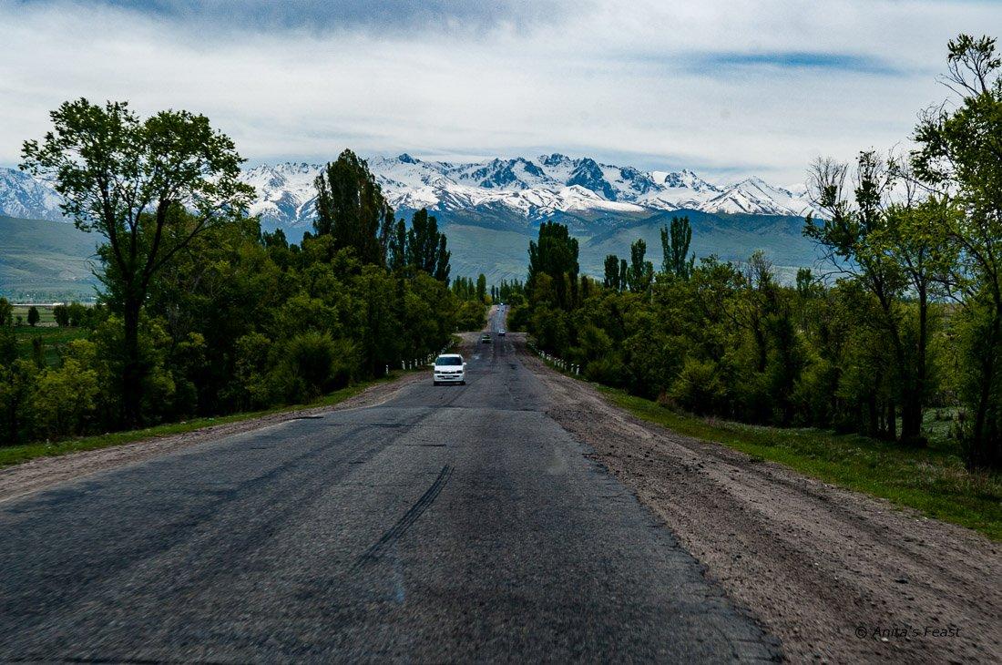 Traveling around Issyk Kul Lake, Kyrgyzstan
