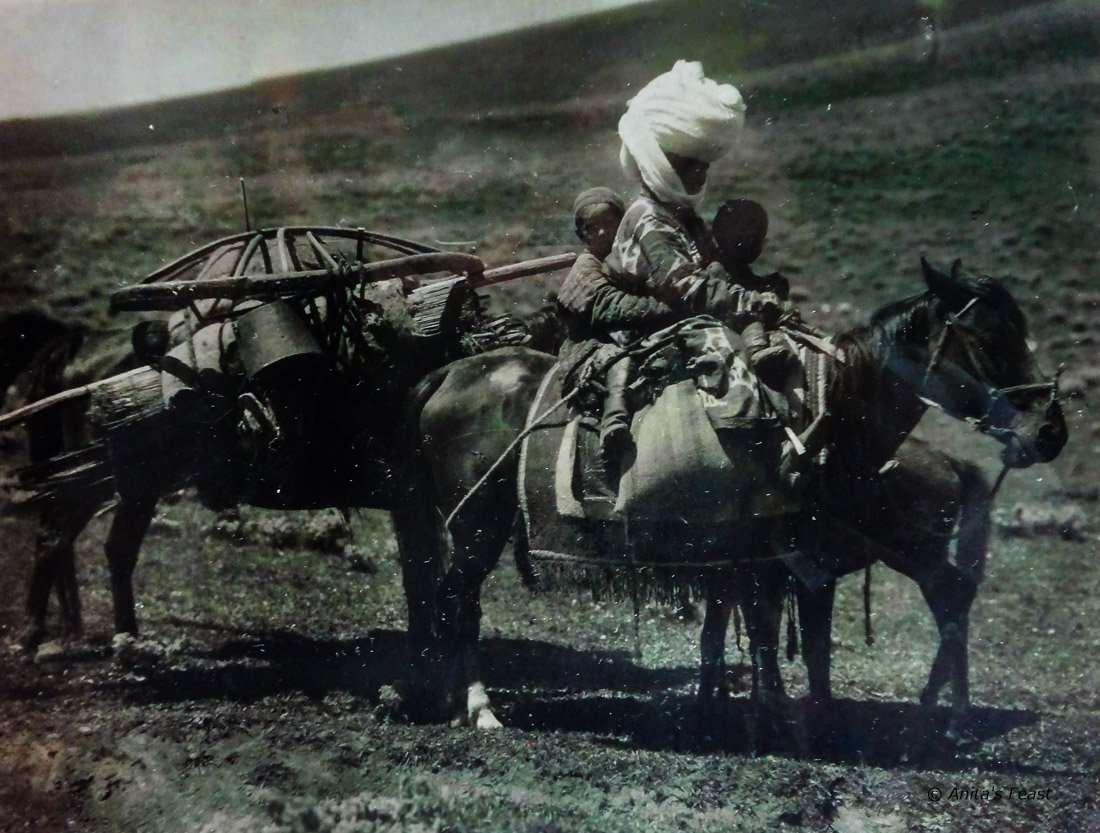 nomad on a horse