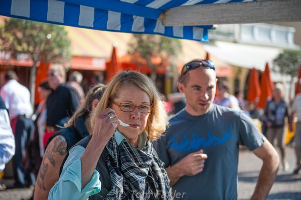 Ascona chestnut festival