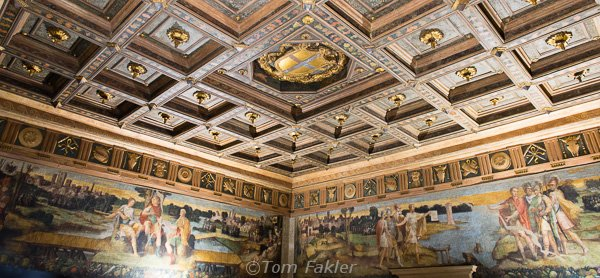 Interior of the Town Hall, Modena, Italy
