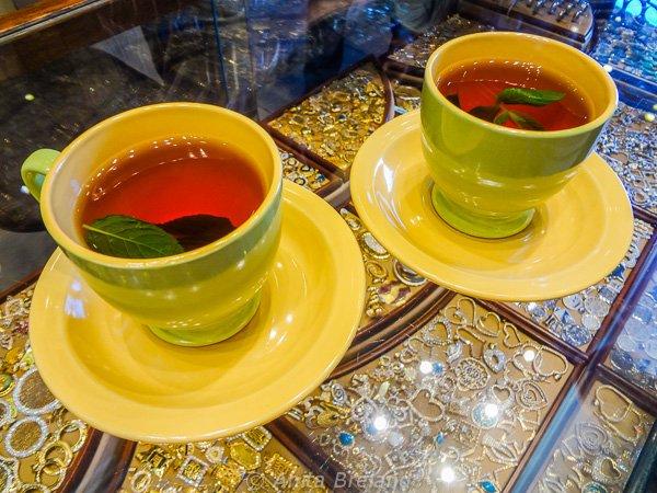 Mint tea, Amman, Jordan