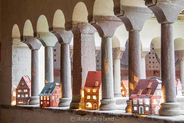 Miniature Alsatian houses, Strasbourg Christmas