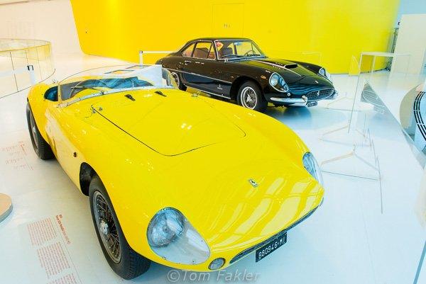 1954 Ferrari 500 Mondial in the Museo Enzo Ferrari, Modena, Italy