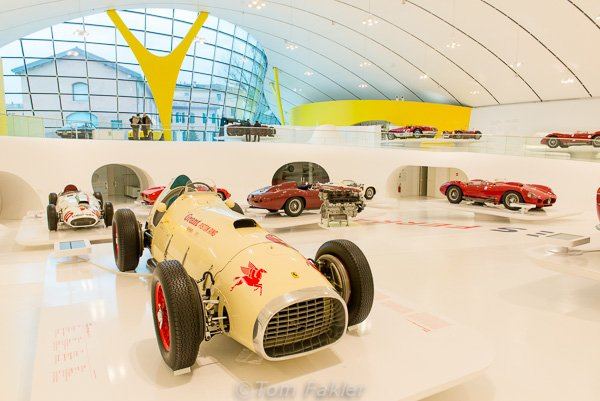 1952 Ferrari 375 Indy in the Museo Enzo Ferrari, Modena, Italy