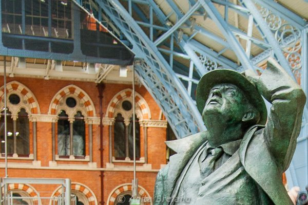 Betjeman's contribution is commemorated in a larger than-life statue at platform level.