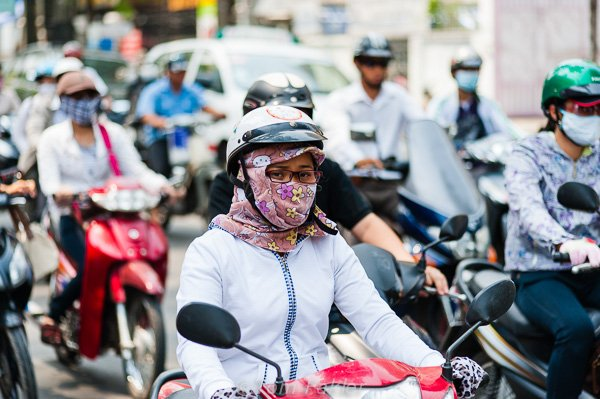 Motorcycle fashion Vietnam