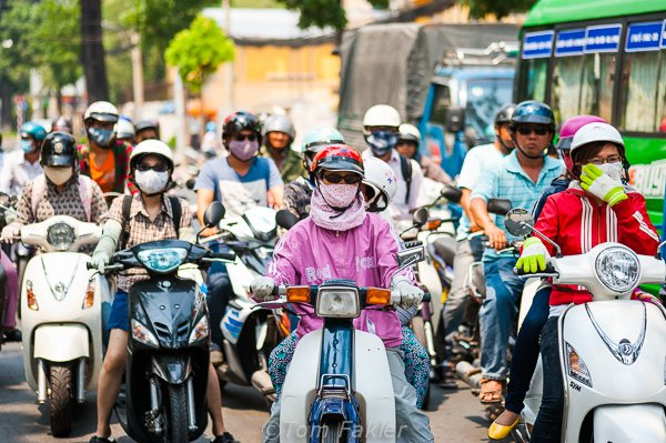 Motorcycle fashion Vietnam