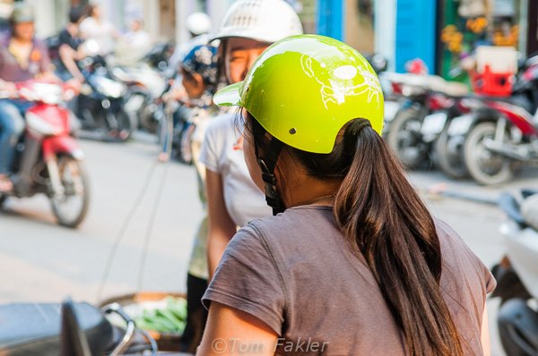 Through the lens: Motorcycle fashion in Vietnam | Anita's Feast
