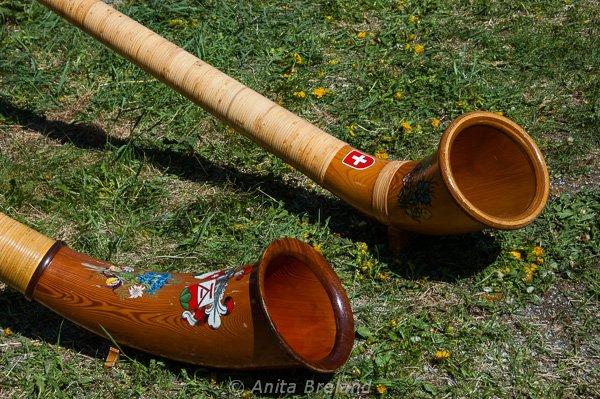Swiss Alphorns