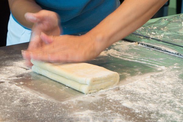 Laughing Lemon's version of puff pastry is less involved than the traditional French method, but it still takes dedication and time-in-kitchen.