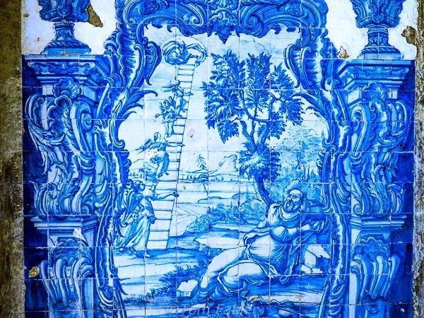 17th century tiles in Lisbon