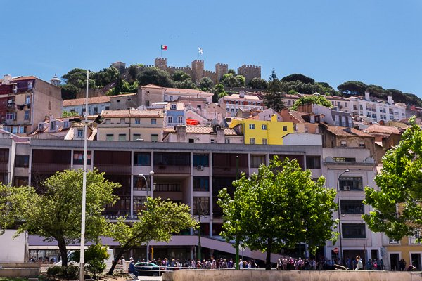 Mouraria neighborhood in Lisbon