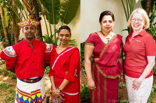 Costumes of Kandyan royalty