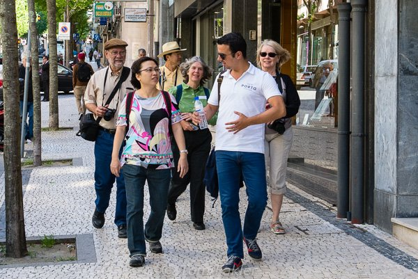 A walk with André of Taste Porto Food Tours