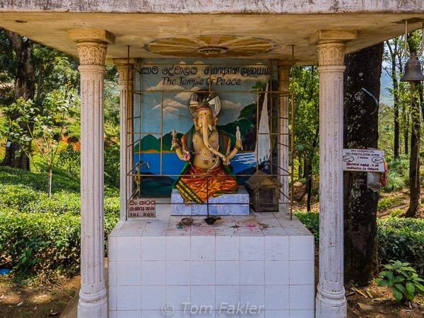 Hindu Ganesh shrine