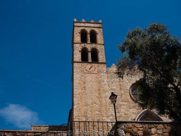 Blanes parish church
