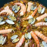Seafood paella, a food traveler's delight from Andalucia