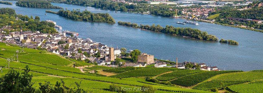 Rüdesheim am Rhein, heart of the Rheingau