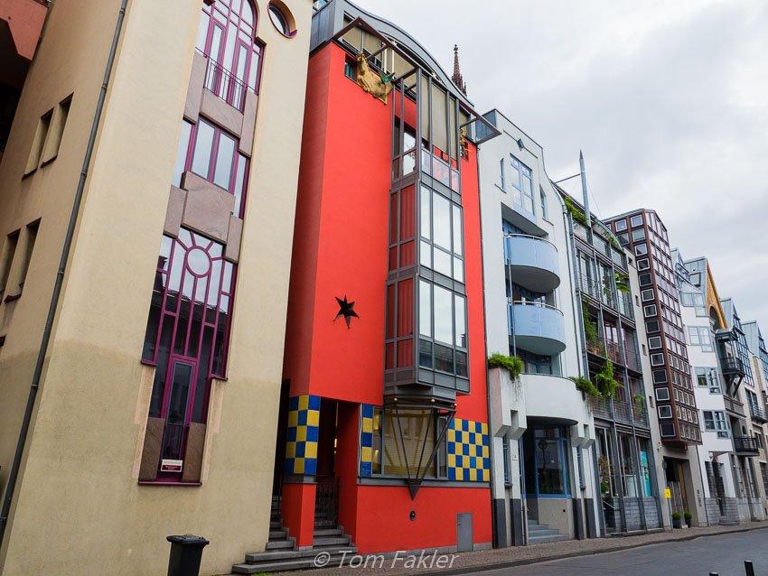 Saalgasse postmodern buildings