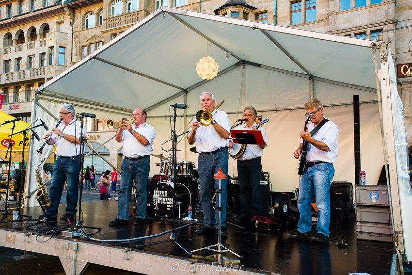 Jazz at Marktplatz, Basel