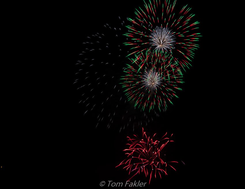 Fireworks for Swiss National Day