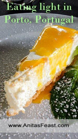 At Essencia in Porto, Portugal, summer desserts are light and fluffy