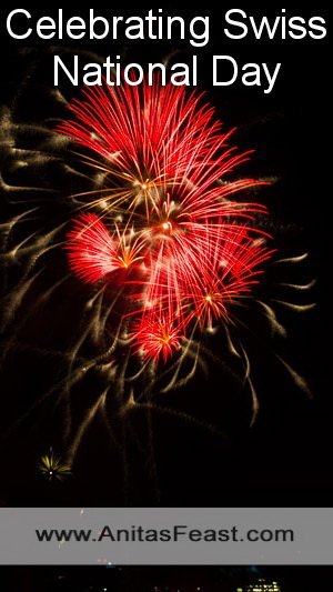 On 31 July, Basel has a display of fireworks over the Rhine to mark Swiss National Day