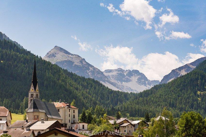 Santa Maria, Val Müstair, Graubünden