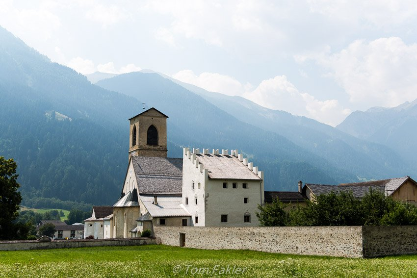 Benedictine Convent of St. John at Müstair, Graubünden