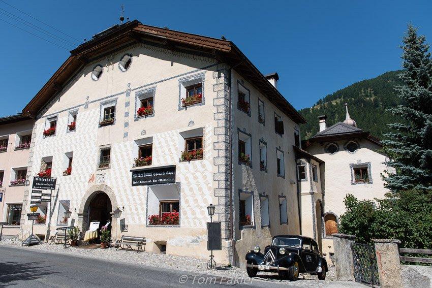 Ritterhaus Chasa de Capol, Val Müstair, Graubünden