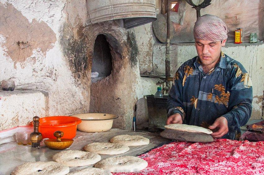 Uzbek baker