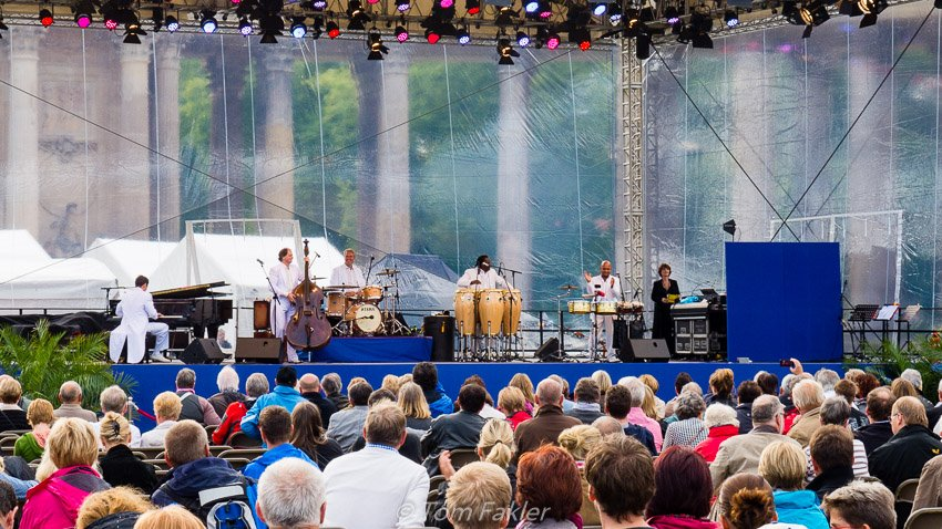 Jazz for the annual Potsdamer Schlössernacht