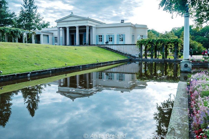 Charlottenhof Palace, part of Potsdam's Sanssouci Park complext