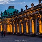 Schloss Sanssouci palace, centerpiece for the annual Potsdamer Schlössernacht