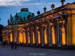 Schloss Sanssouci palace, centerpiece for the annual Potsdamer Schlössernacht