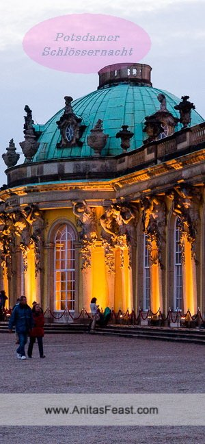 Potsdamer Schlösernacht, a magical summer evening in Potsdam, Germany