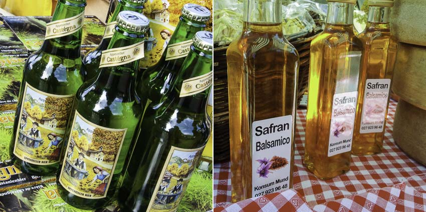 Unexpected food souvenirs from Switzerland