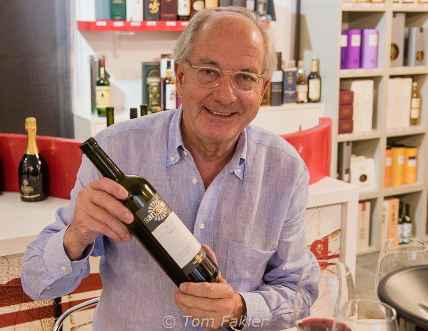Claudio Tamborini of Tamborini Vini de Lamone