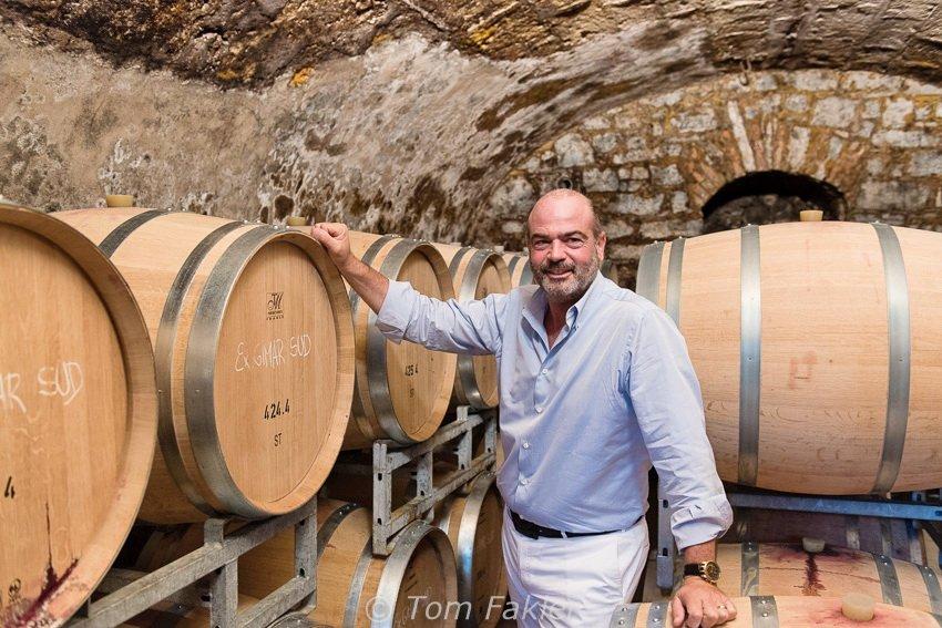 Guido Brivio of Brivio Vini, Mendrisio